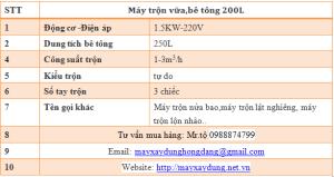 maytronbetong200l